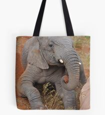 Elephant's Time Out  Tote Bag