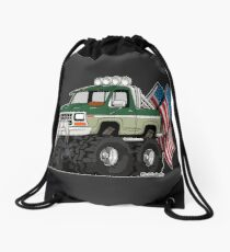 Truck - Tuff Truck (with Flag) Drawstring Bag