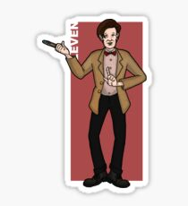 Doctor Who - The Eleventh Doctor 'ELEVEN' Sticker