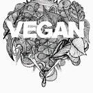 Go Vegan by zuzanaperner