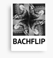 Bachflip Canvas Print