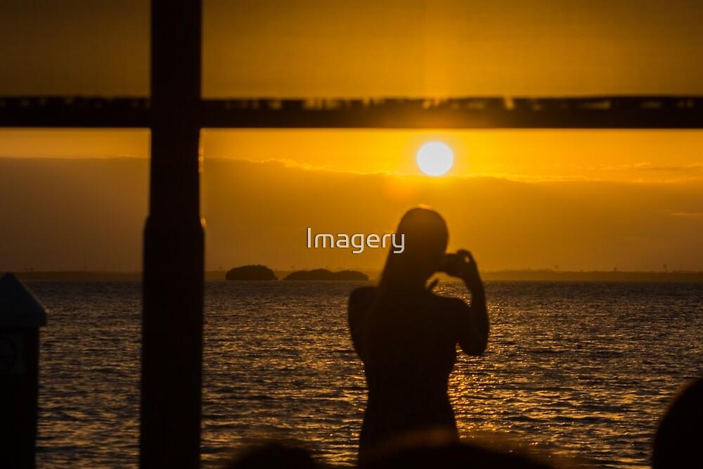 Sunset at La Isla Dora by Imagery