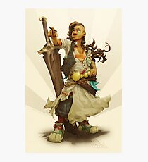 scai: pirate girl Photographic Print