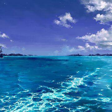 Blue Tropic by FaerytaleWings