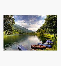 Feld am See ( Feld Lake ) - Carinthia - Austria Photographic Print
