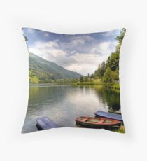 Feld am See ( Feld Lake ) - Carinthia - Austria Throw Pillow