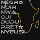 BLACK in Every Language Third Culture Series (Africa) by Carbon-Fibre Media