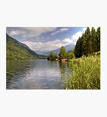 Afritzer See ( Afritzer Lake ) - Carinthia - Austria Photographic Print