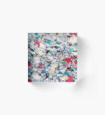 MARINE TRASH Acrylic Block