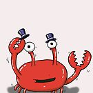 Dancing Gentleman Crab by Joshua Porterfield