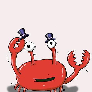 Dancing Gentleman Crab by squoose