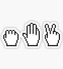 Pointer: Rock Paper Scissors Sticker