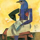 BirdHead/Pittsburgh No. 9 by ReBecca Gozion