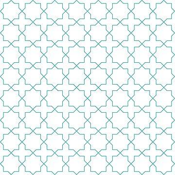 Star and Cross pattern by DanDobsonDesign