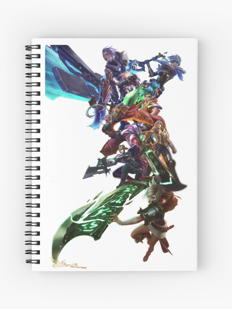 League of Legends LoL Riven the exile Champion all skins | Spiral Notebook