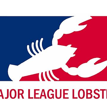 Major League Lobster - Red Letters by yoshi77