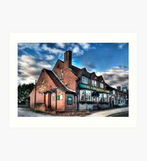 The Cricketers Arms Art Print
