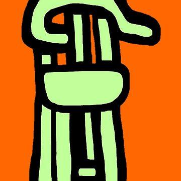 Chair Merch by KrazyKlowns
