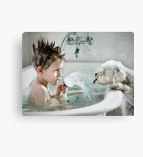 Shower Time Canvas Print