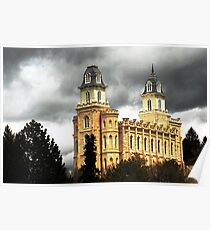 Manti LDS Temple  Poster