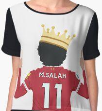 Mo Salah Egyptian King Liverpool FC Design Chiffon Top