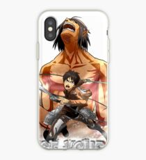 The Devil Within, Eren - Titan iPhone Case