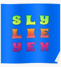 Slew Lie Yew Poster