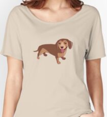 Dachshund Dog Women's Relaxed Fit T-Shirt