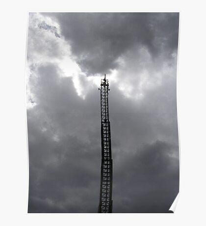 Tesla Ladder Poster