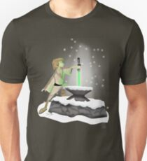 The Saber In The Stone Unisex T-Shirt
