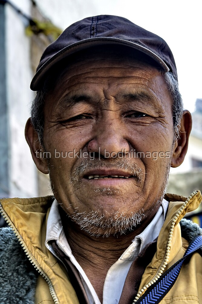 local. ladakhi man, northern india by tim buckley | bodhiimages