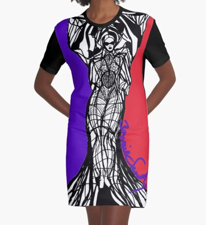 Woman Within9 Graphic T-Shirt Dress