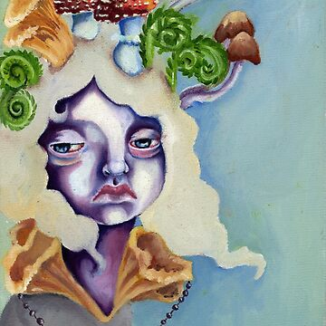 Sprouted - oil on canvas painting by Ela Steel by elasteel