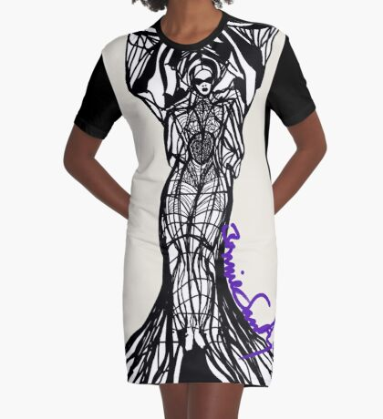 Woman Within7 Graphic T-Shirt Dress