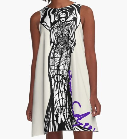 Woman Within7 A-Line Dress