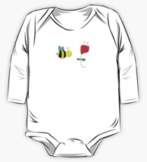 Bumble Bee in The Rose One Piece - Long Sleeve