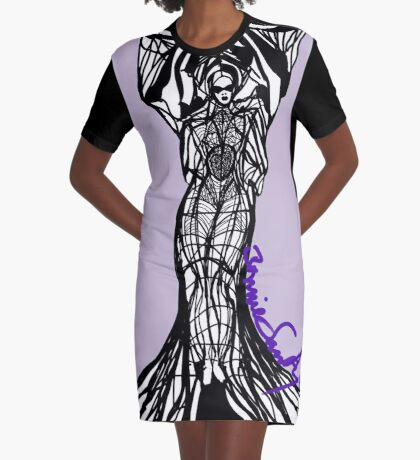 Woman Within4 Graphic T-Shirt Dress