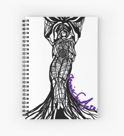 Woman Within1 Spiral Notebook