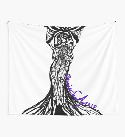 Woman Within1 Wall Tapestry