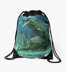 Subnautica - Ghost Fossil Drawstring Bag