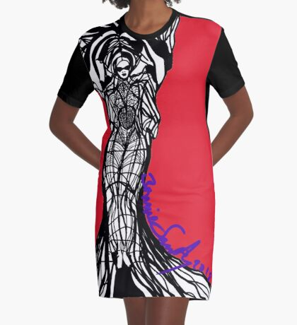 Woman Within2 Graphic T-Shirt Dress