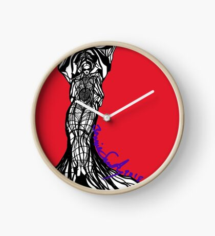 Woman Within2 Clock
