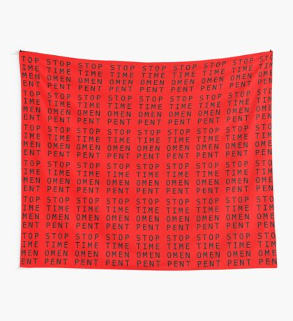 Stop Time Omen Pent – II Wall Tapestry