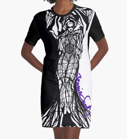Woman Within Graphic T-Shirt Dress