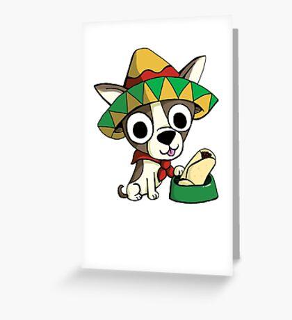 Barkitos Greeting Card