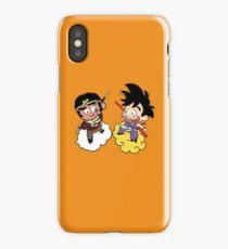 The 2 Monkeys iPhone Case