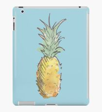 Cute Watercolor and Ink Pineapple iPad Case/Skin