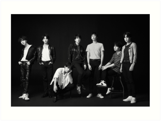 Bts Love Yourself Tear Concept O Art Print By Kpop Deals