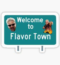 guy fieri, flavortown Sticker