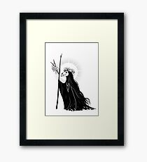 The Dark Queen Framed Print